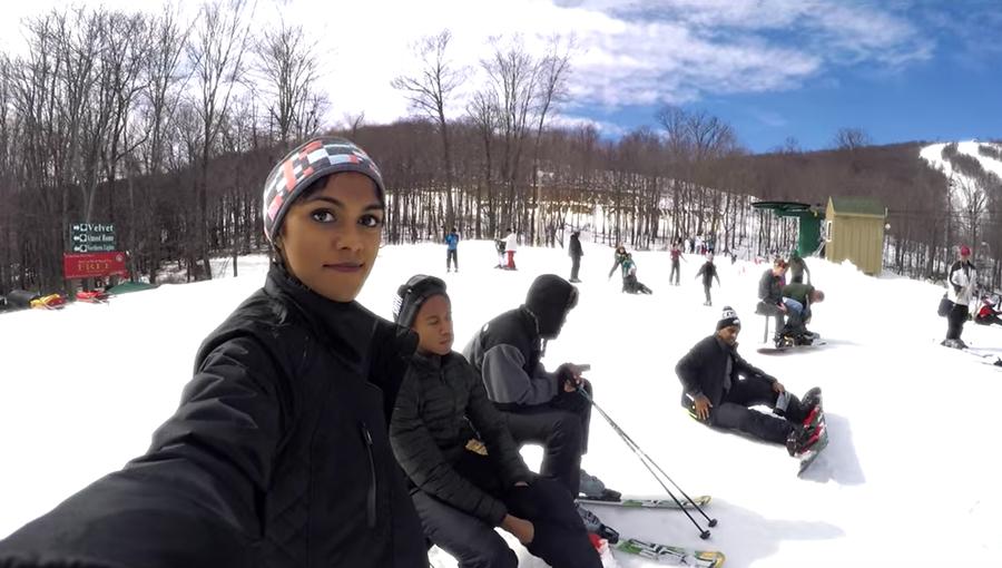 Excursion des sports d'hiver d'Appian en 2016