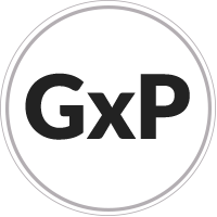 Logo de conformidad con GxP