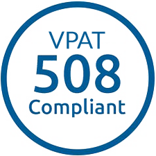 VPAT 508 Compliant Logo