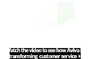 Logo centre de contact Aviva