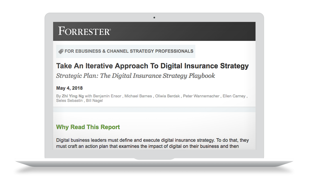 forrester digital strategy for insurance