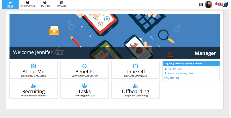 HR Employee Onboarding Dashboard