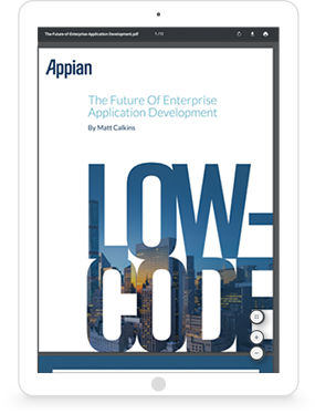 Low-Code - The Future of Enterprise Application Development