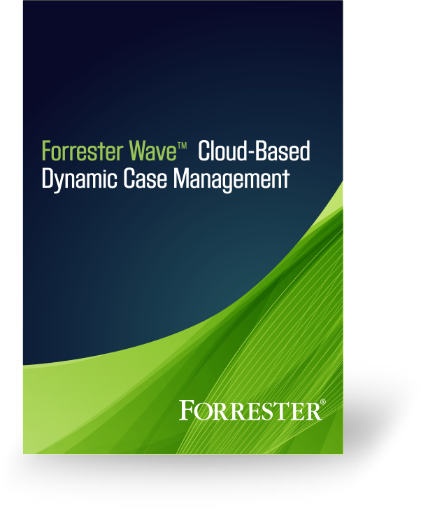 Forrester Wave - Dynamic Case Management Report