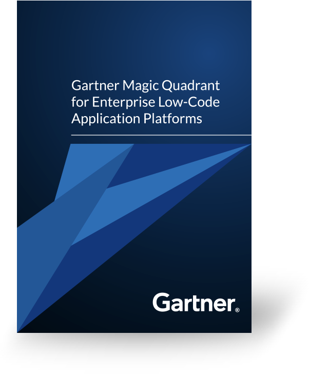 Gartner Low Code Magic Quadrant Report 2019