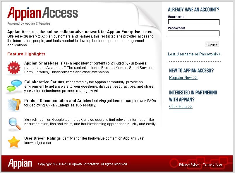 Appian Access