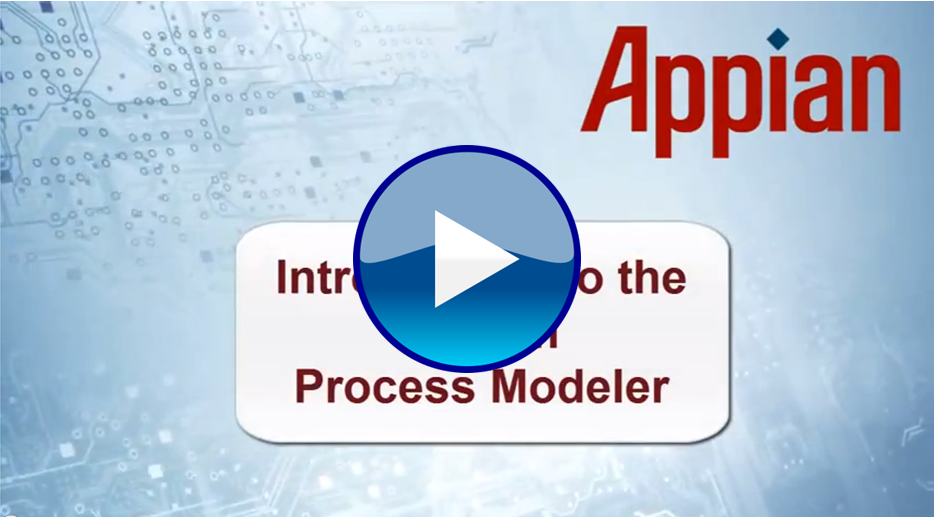 Introduction to the Appian Process Modeler