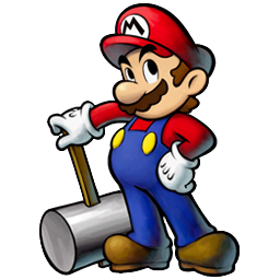 Mario with hammer