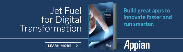 Jet Fuel for Digital Transformation. Build great apps to innovate faster and run smarter.