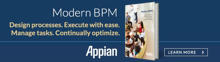 Modern BPM with Appian