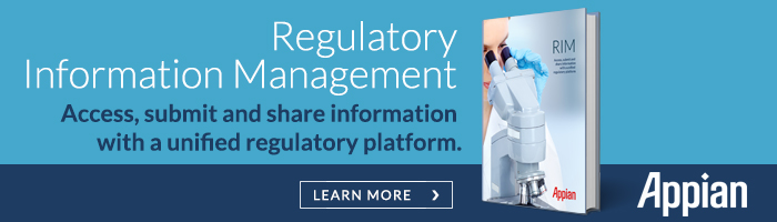 Appian for Regulatory Information Management