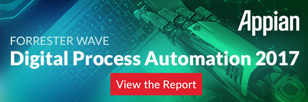 View the Digital Process Automation report released by Forrester Wave.