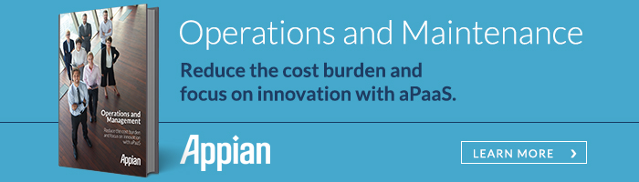 Reduce the cost burden of IT modernization with aPaaS.