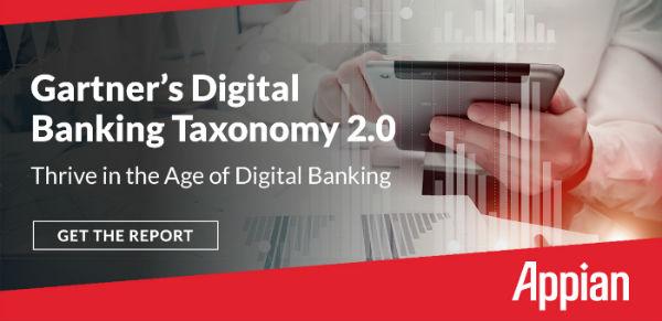 Gartner's Digital Banking Taxonomy 2.0