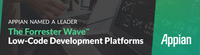 Download the Forrester Wave for low-code development platforms