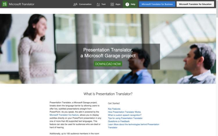 Traduzione vocale in tempo reale