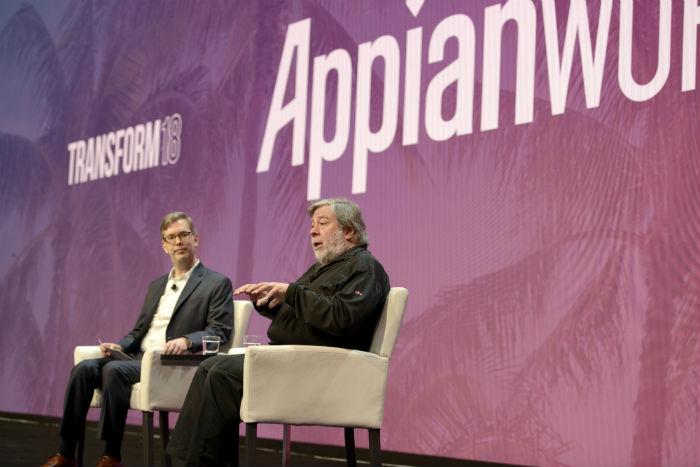 Steve Wozniak at AppianWorld 2018